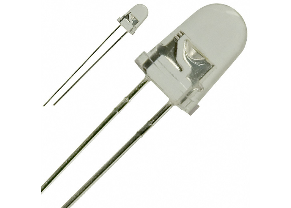 LED HG-5W4SCLG1215 WHITE 5mm 16000MCD
