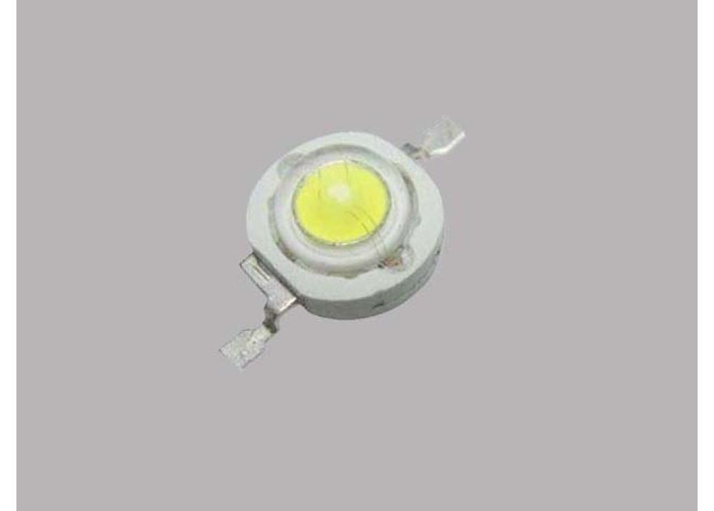 LED 1W COOL WHITE 3.0~3.6V