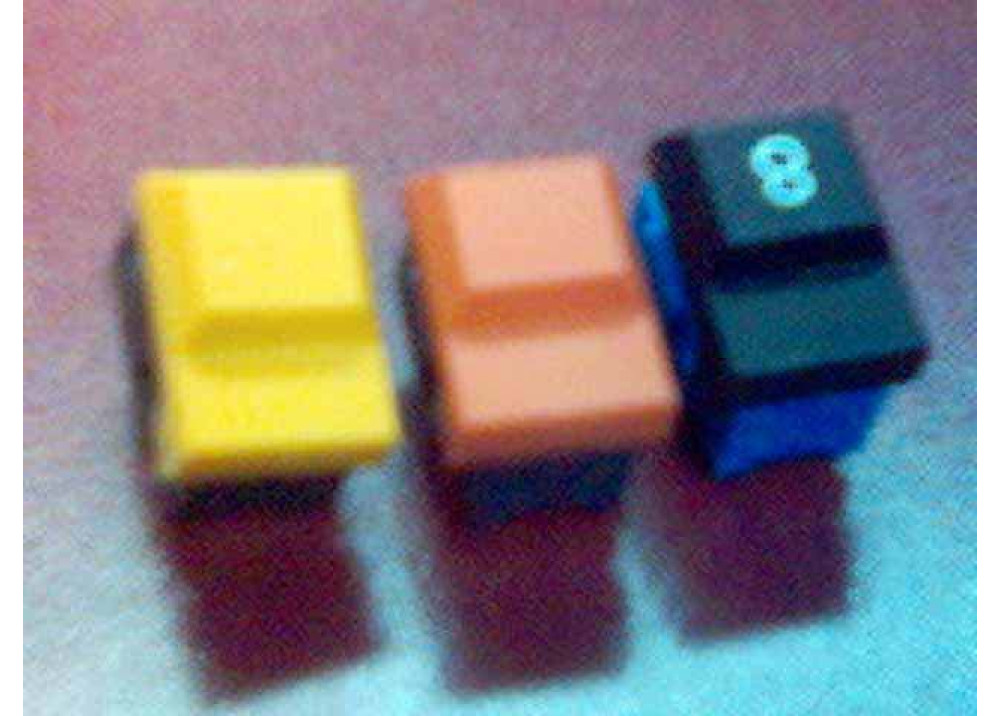 Momentary Tact Switch 4P Orange