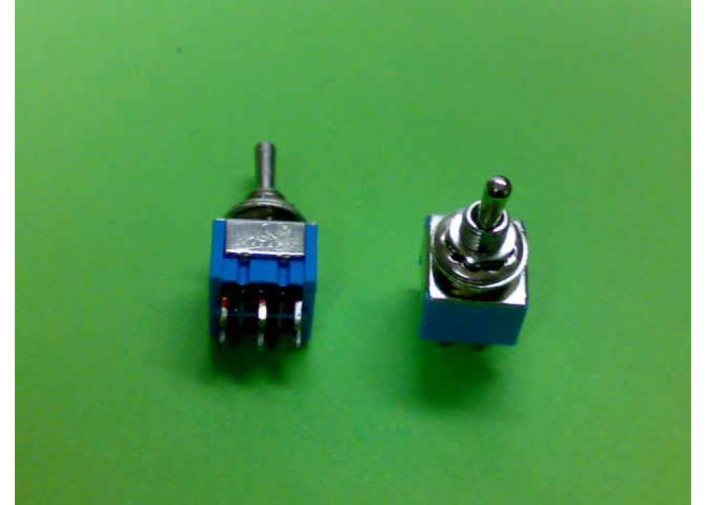 Toggle Switch DPDT 6P ON OFF ON