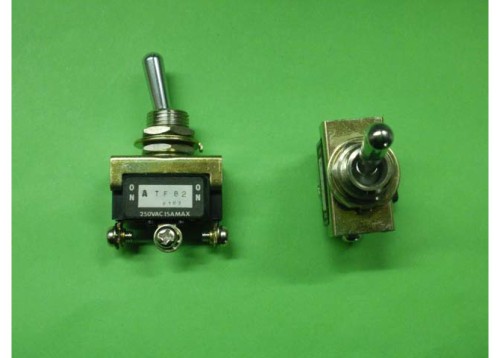 TOGGLE SW MOMENTLY 15A  250V 3P