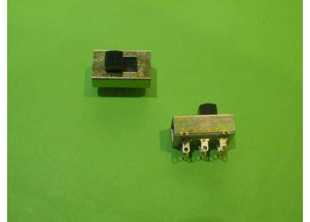 DPDT Slide Switch 6P 3A 250V
