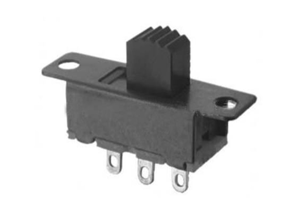 SPDT Miniature Slide Switch ON OFF 3P