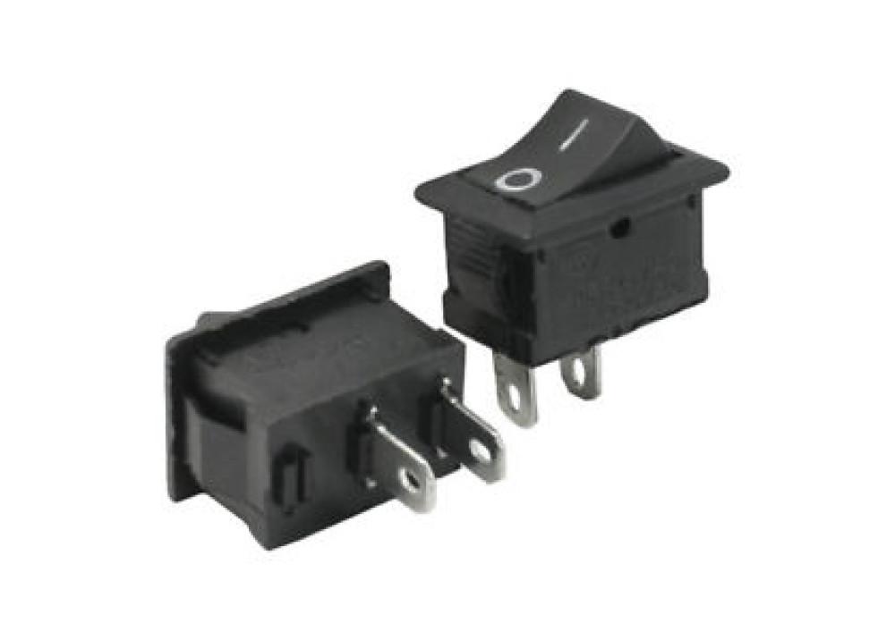 Rocker Switch 6A 250V AC 2P