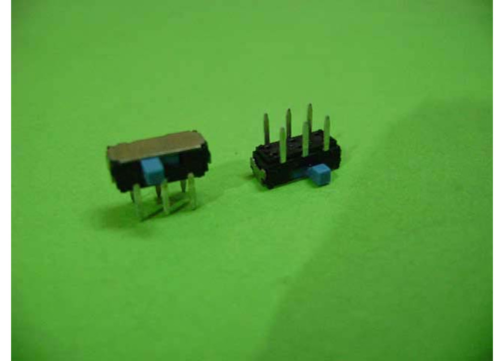 Slide Switch DPDT 6P PCB Mount Right Angle