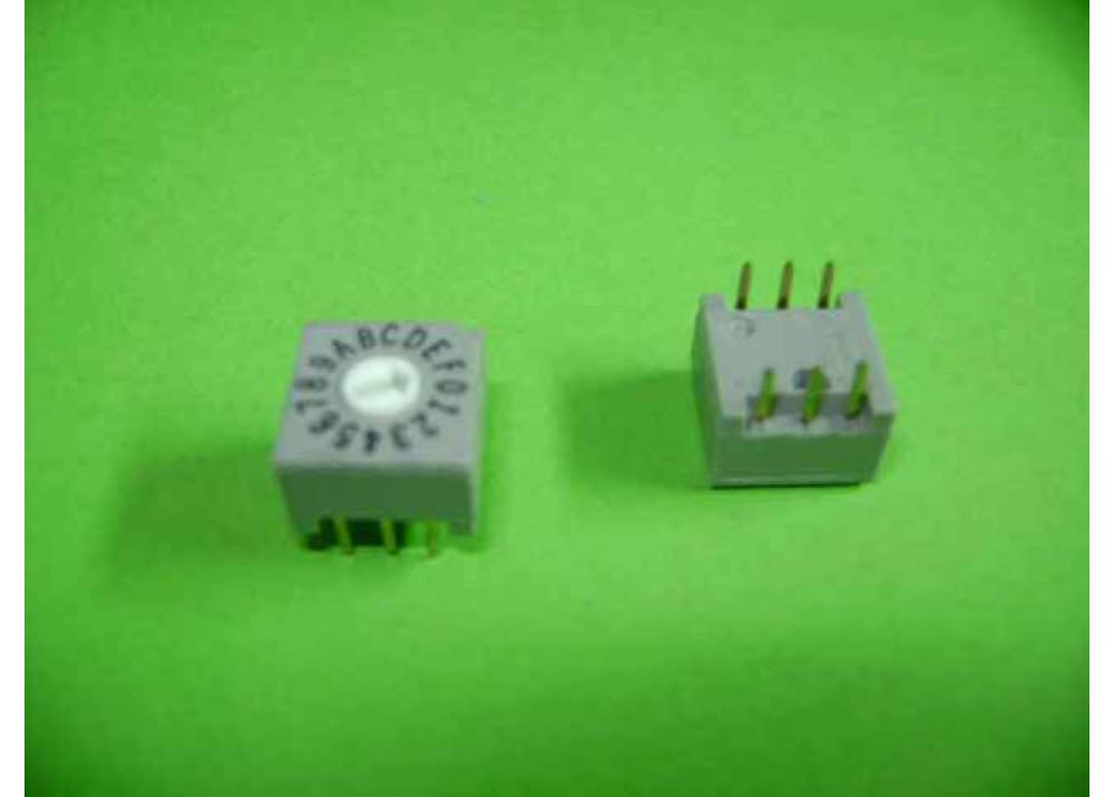 SWITCH HEX  RRD16C3.3KRA PCB 6P 16PSO