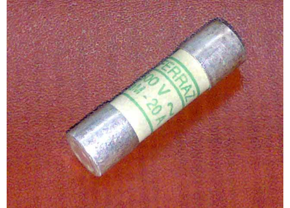 Industrial Fuse 10MM X 38MM 20A 500V