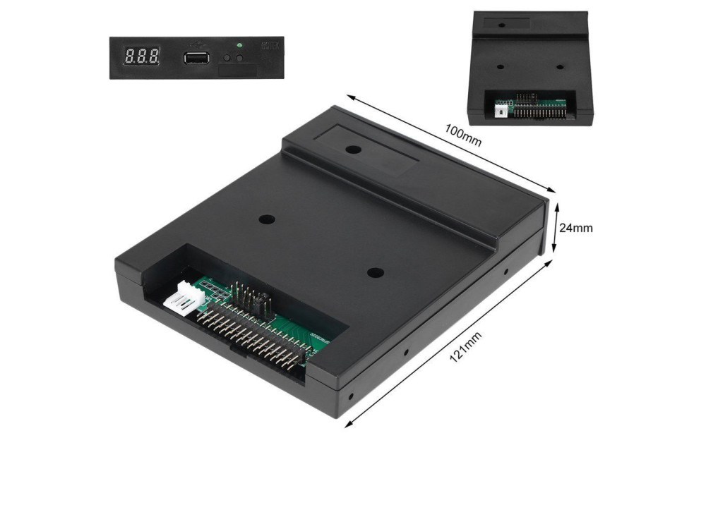 Mistar Floppy Emulator  SFR1M44-FU 1.44 To USB