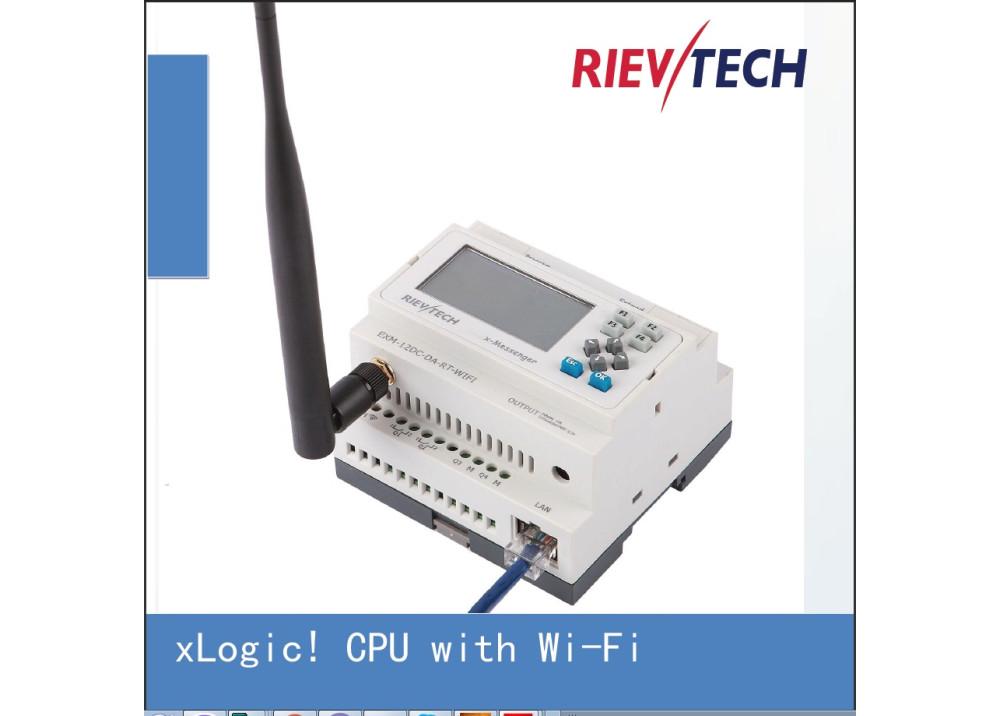 Smart Relay Rievtech EXM-12DC-DA-RT-WIFI