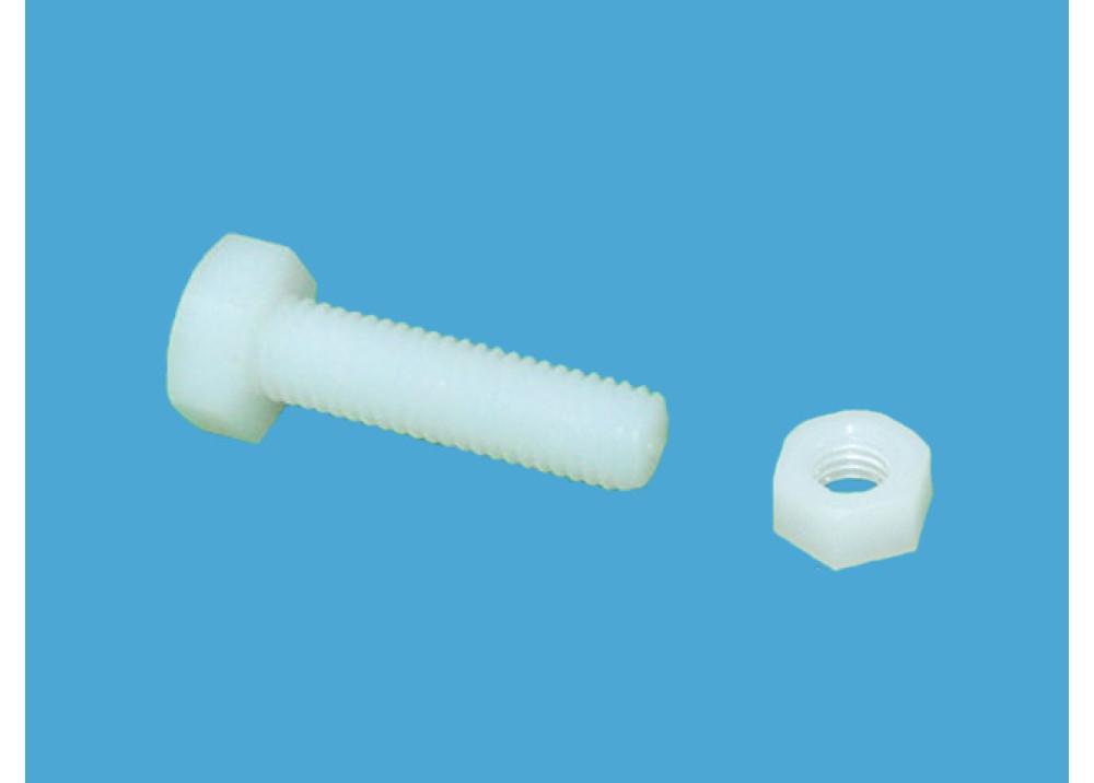 Nylon bolt and nut size 12mm