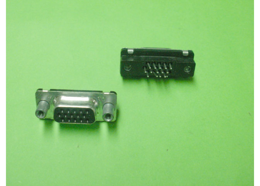 D-Sub female Straight PCB Mount VGA 15P  Wire To Bord