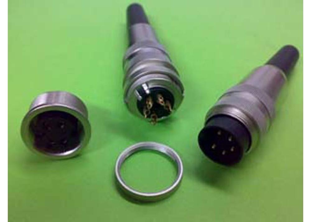 JK XLR MF 5P Wire To Wire