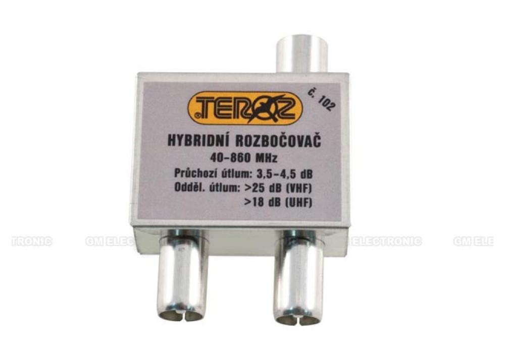 Antenna splitter C102 1Female~2Male