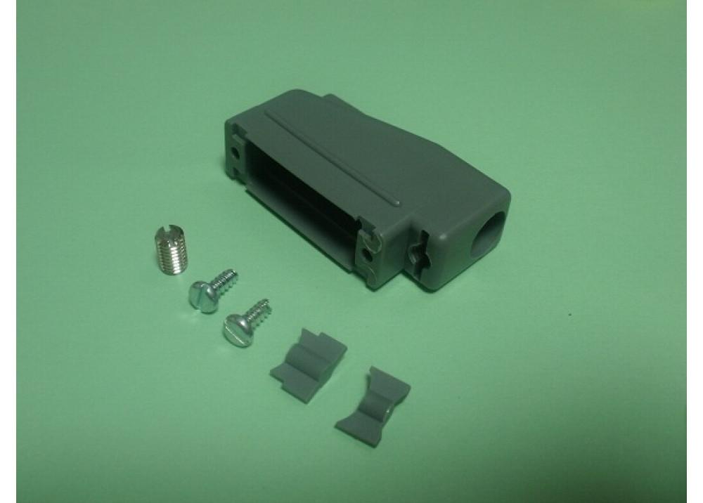 D-SUB Plastic Cover 15P Right Angle 90 degree