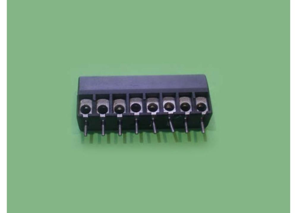 Terminal block PCB S 8P 5mm
