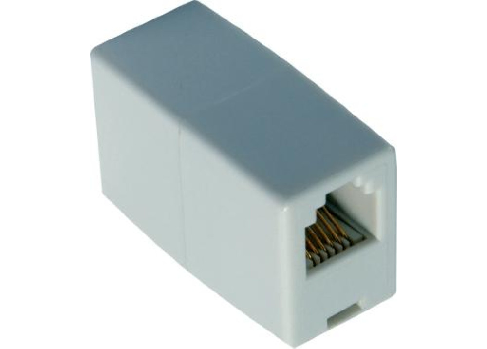 Adapter RJ11 4P Female to Female