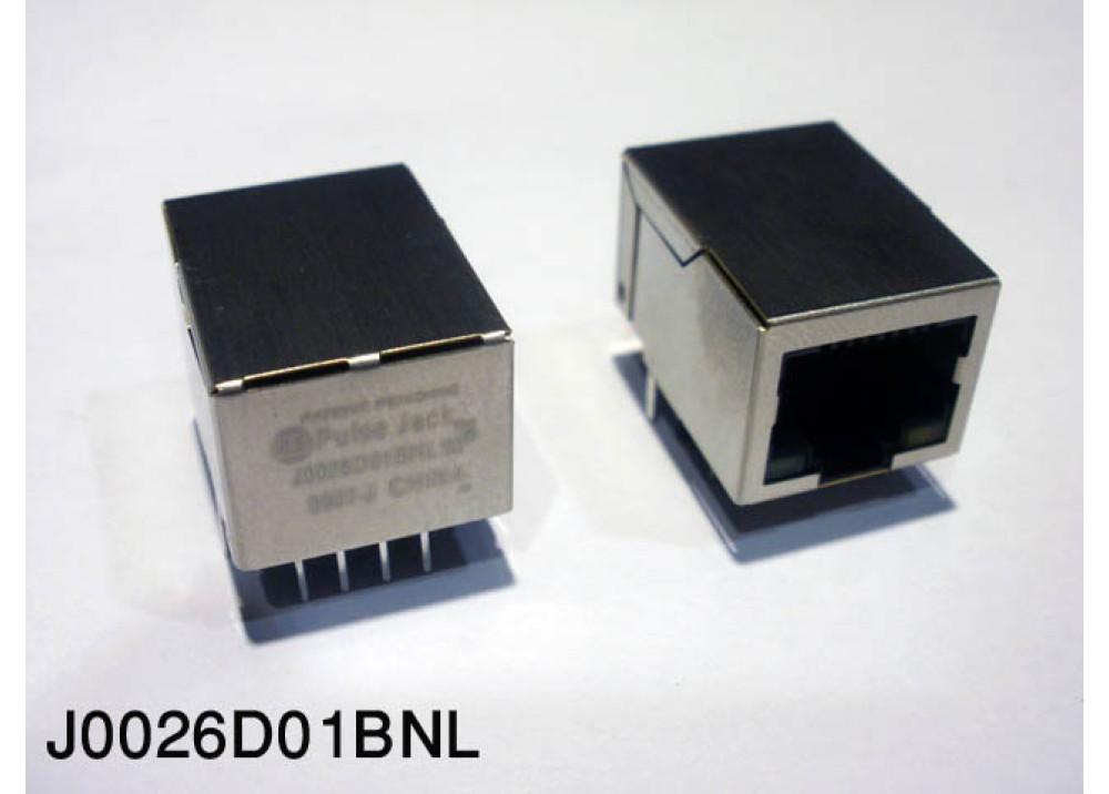 RJ45+LED PCB RJ45+LED-J0026D01BNL