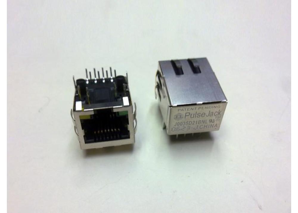 RJ45+LED PCB J0035D21BNL