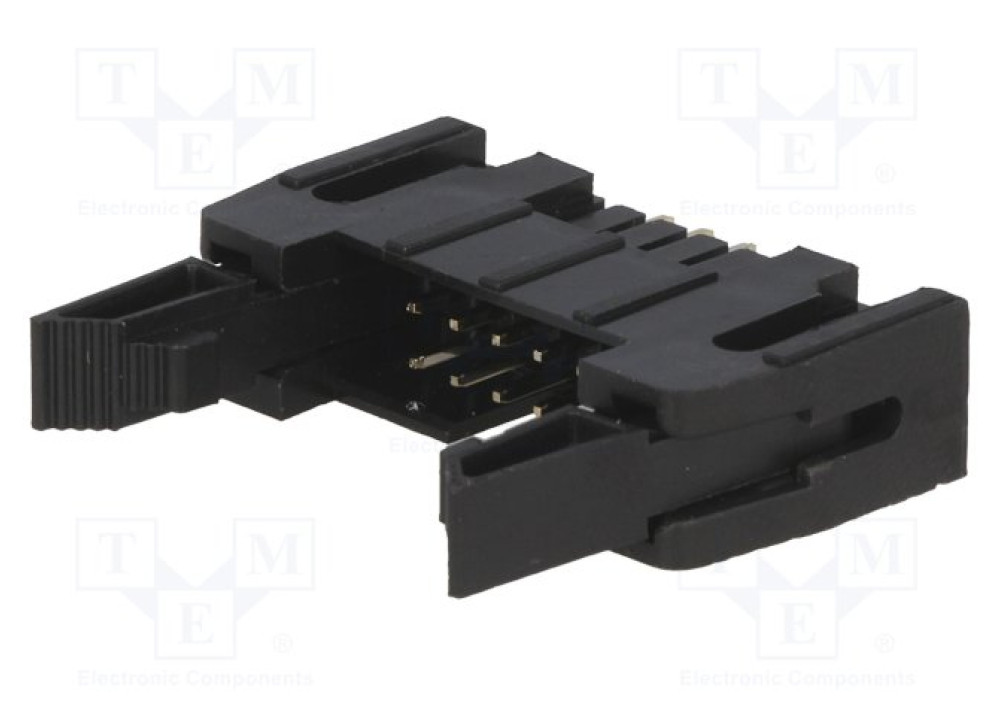 Ejector Header IDE Connector straight angled 2.54mm  FLAT  14P