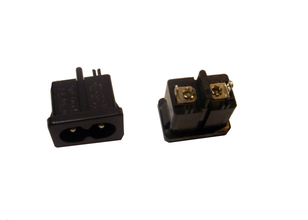 AC Power Male for panel mount