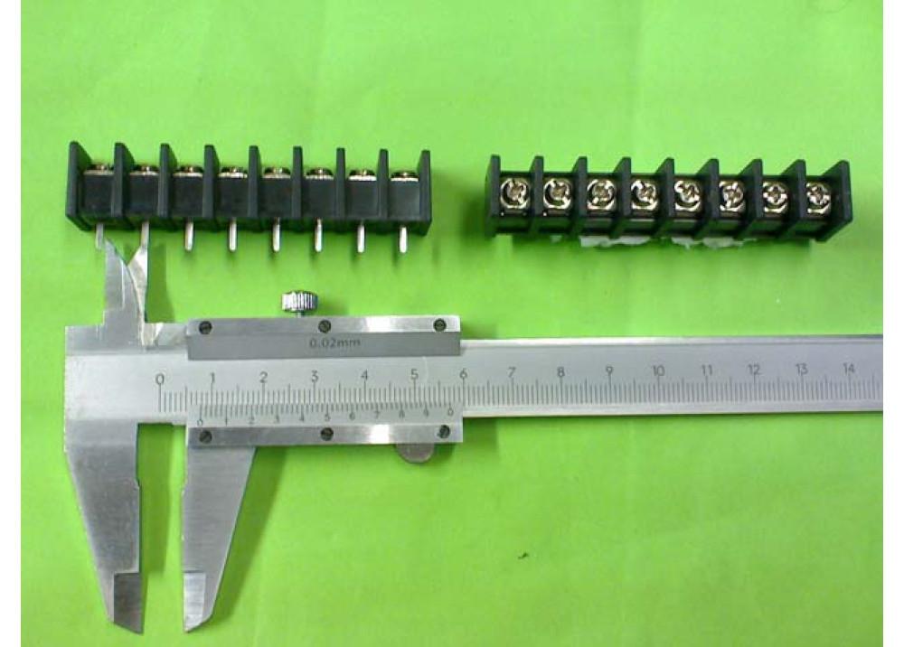 KF35C-8.25 Barrier Teminal Block KF35C-8.25-8P PCB 8P 8.25mm