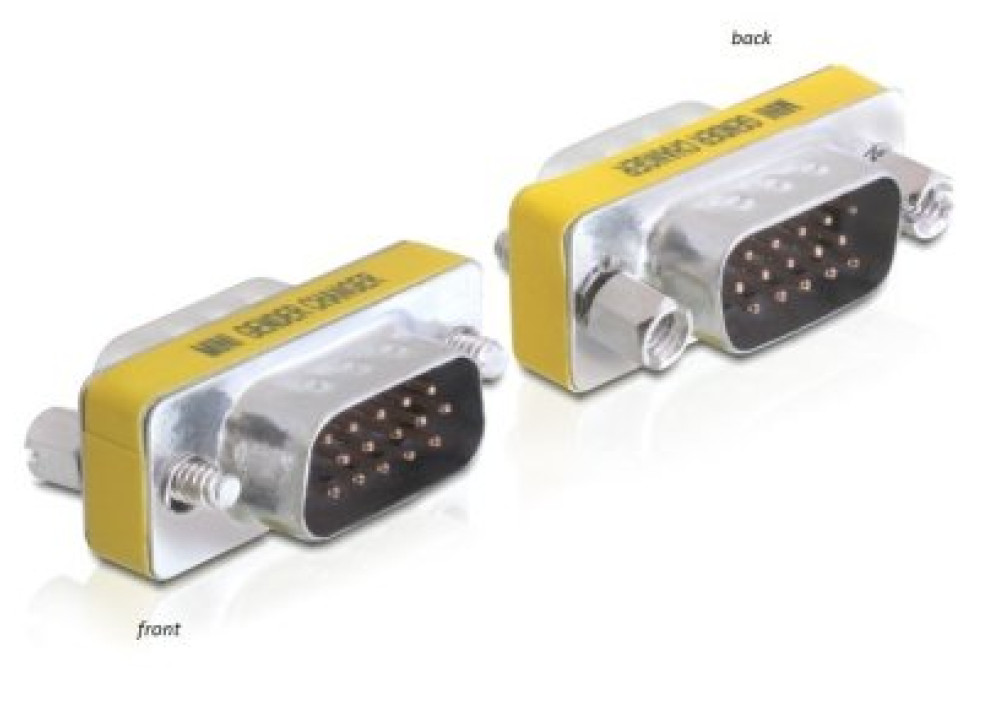 Adapter VGA D-SUB 15P Male To 15P Male