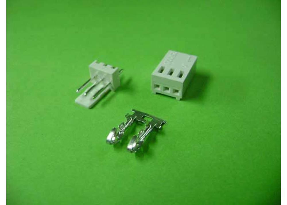 Molex 2510 Connector 2.54mm 3P Straight PCB  Wire to Board Connector