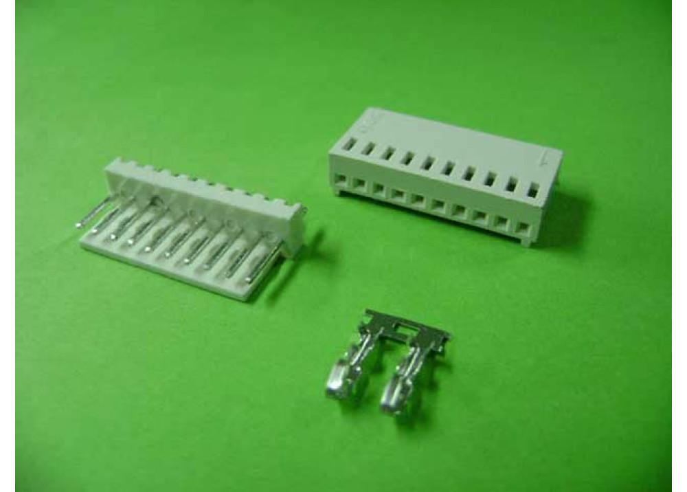 Molex 2510 Connector 2.54mm 10P Straight PCB  Wire to Board Connector