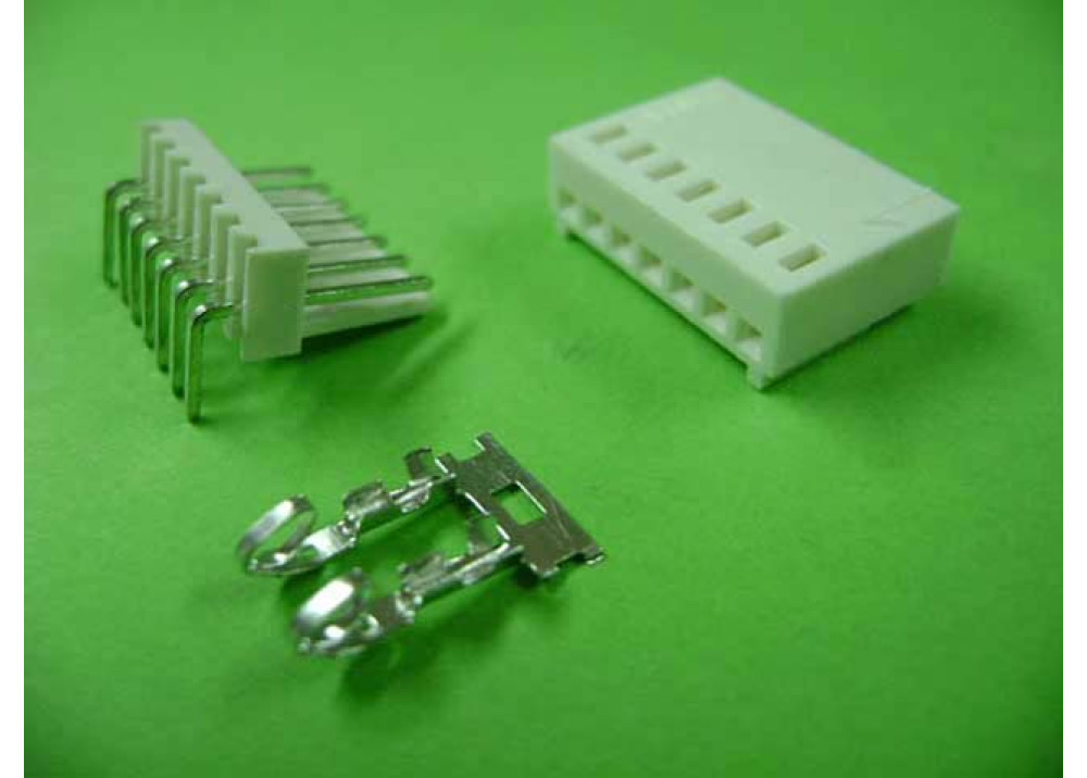 Molex 2510 Connector 2.54mm 7P Right PCB  Wire to Board Connector