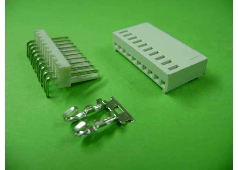 Molex 2510 Connector 2.54mm 10P Right PCB  Wire to Board Connector