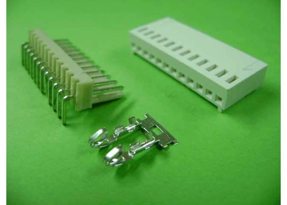 Molex 2510 Connector 2.54mm 12P Right PCB  Wire to Board Connector