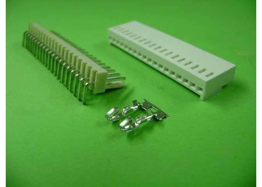 Molex 2510 Connector 2.54mm 18P Right PCB  Wire to Board Connector
