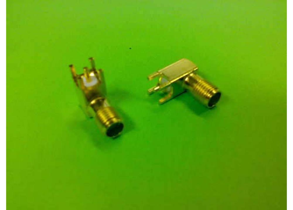 CONN JACK SMA 50 OHM R/A PCB 3-1478978-1