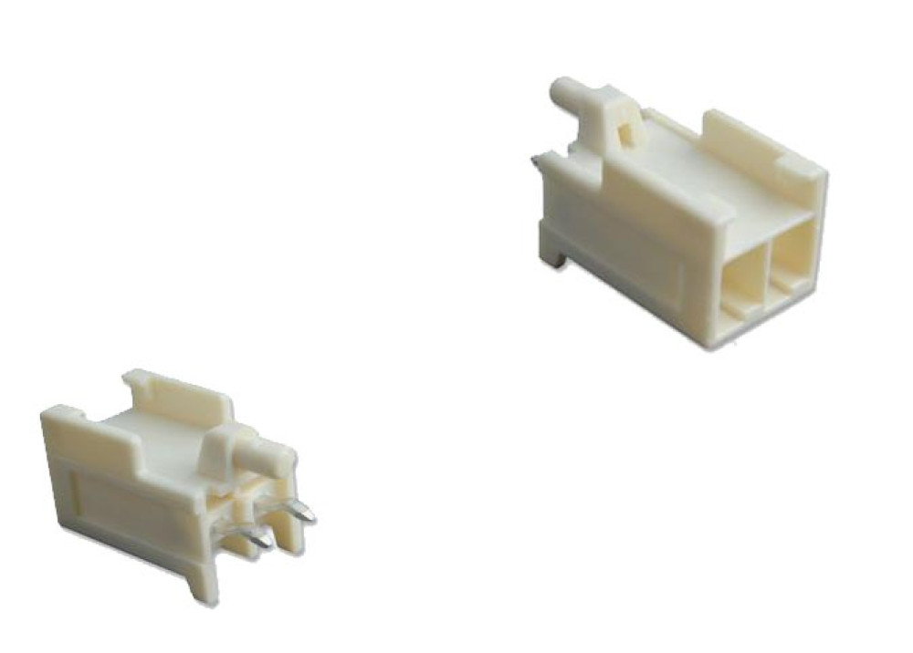 AMP CONNECTOR HEADER 2 POSITION 3.96mm 177915-1