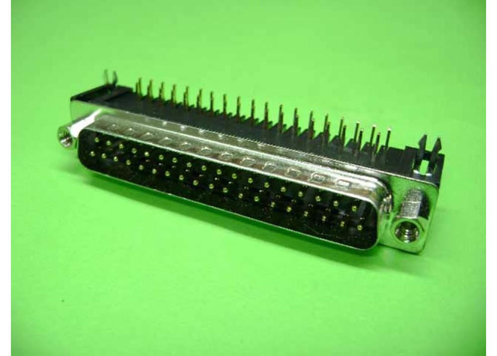 PCB SUB D37P MR  Wire To Bord