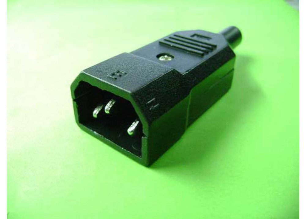 AC CONNECTOR MALE CABLE MOUNT