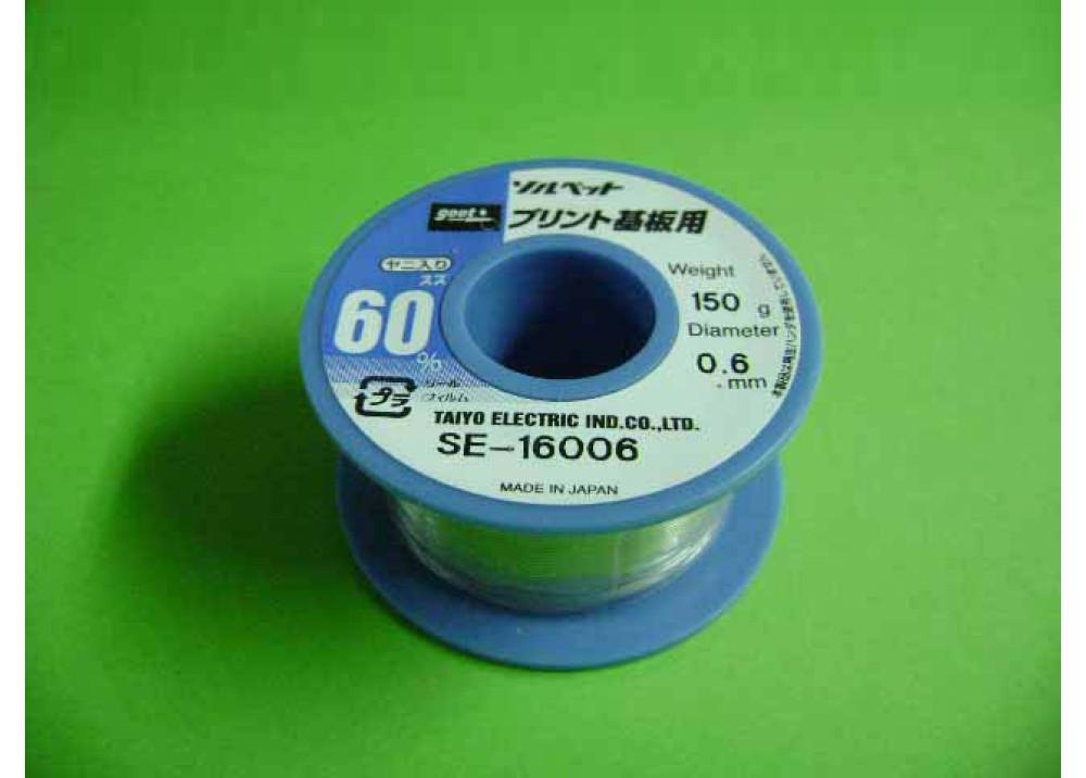 GOOT SOLDER SE16006 0.6mm 60% 150g