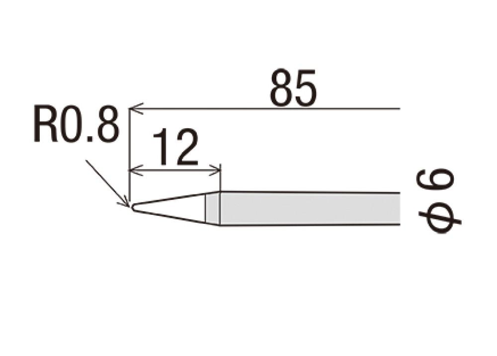 GOOT TIP R-6B 60W