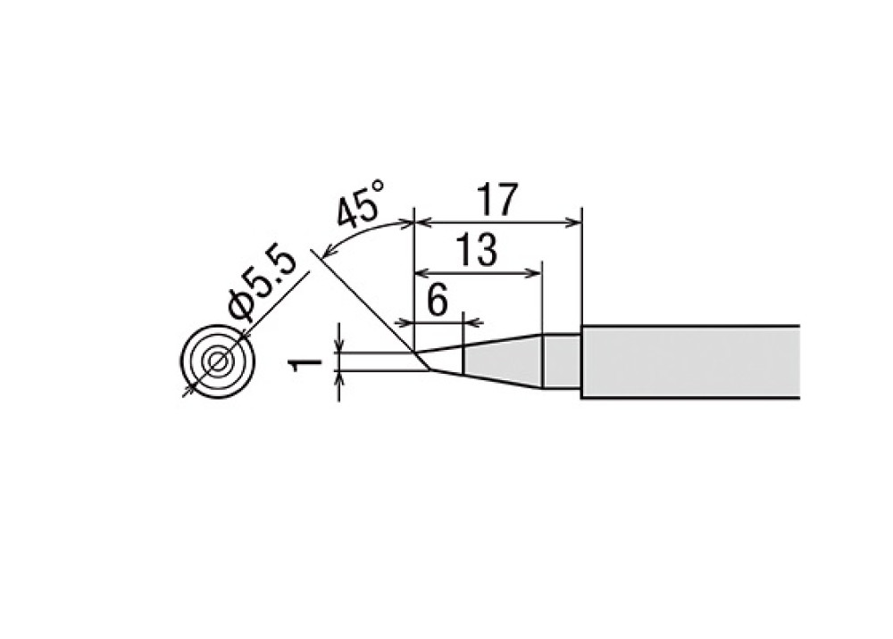 GOOT TIP TQ-77RT-BC