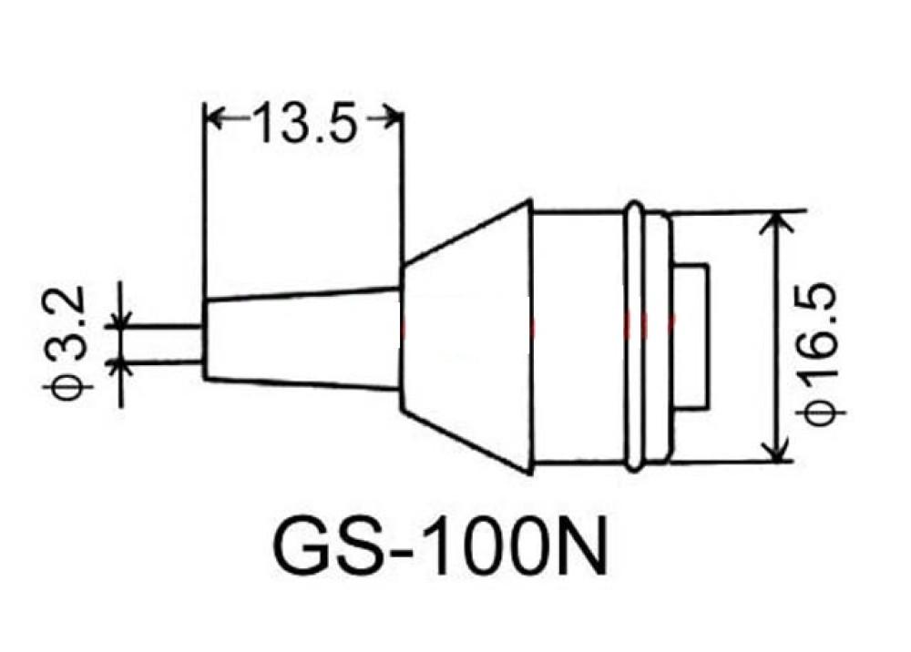 GOOT DESOLDERING TIP GS-100N