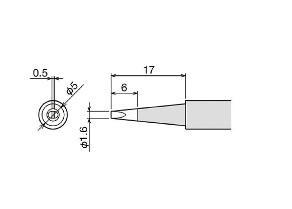 GOOT TIP PX-60RT-1.6D