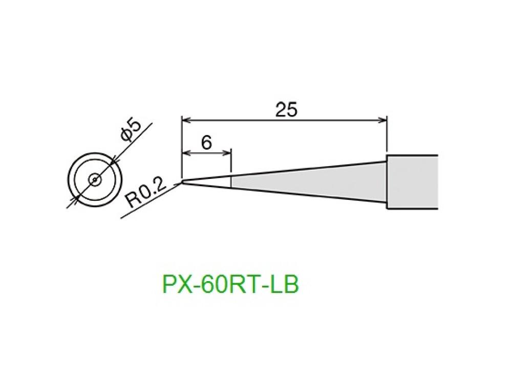 GOOT TIP PX -60RT-LB 0.2mm