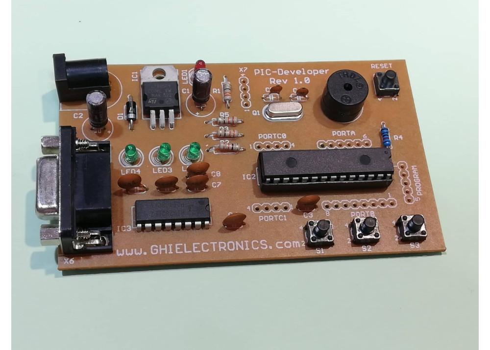 PIC18F252 KIT Developr-Reve.10  Microchip