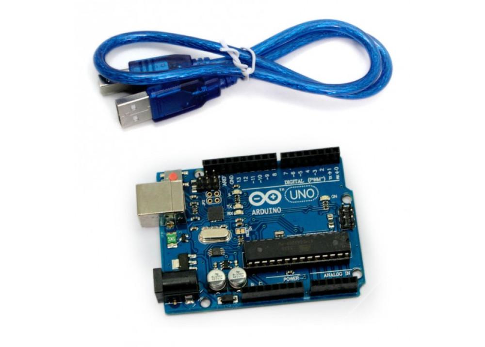 Arduino UNO R3 MEGA328P ATMEGA16U2 with usb cable