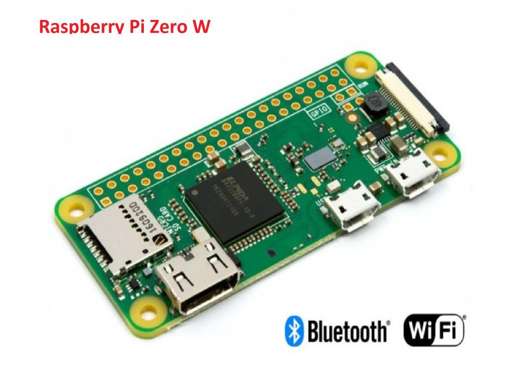 Raspberry Pi Zero W Wireless Pi 0 with WIFI and Bluetooth