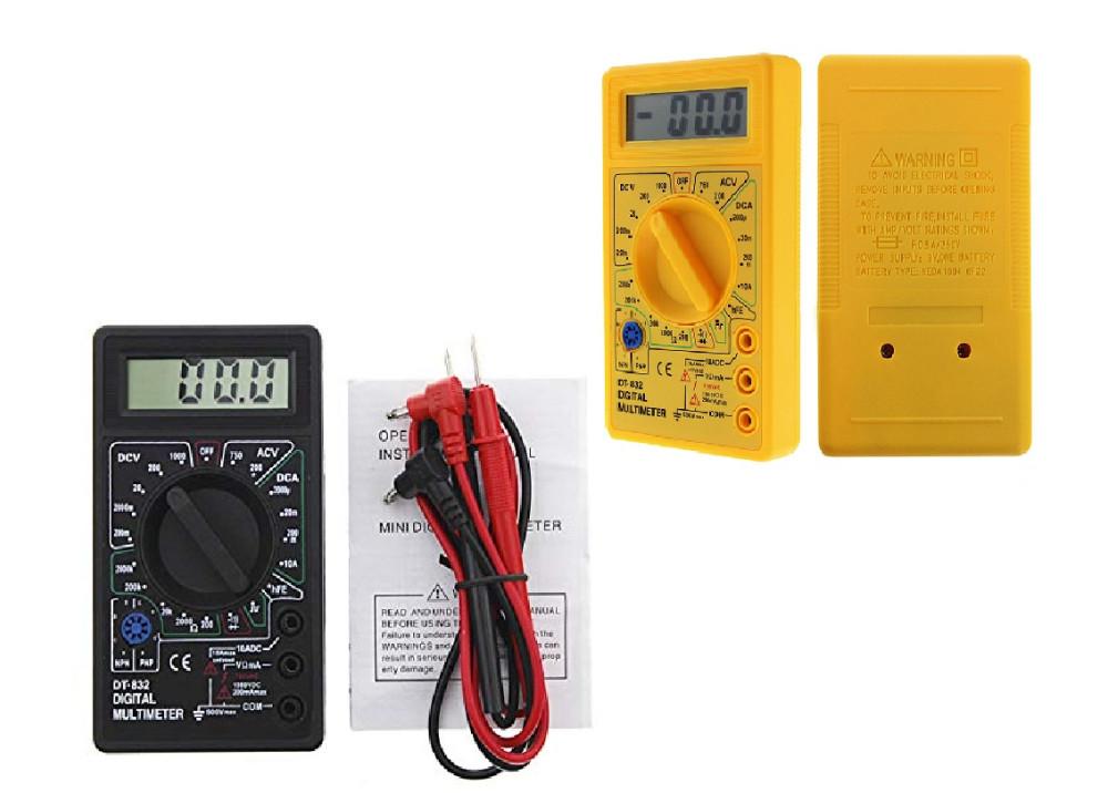 Digital multimeter DMM DT832