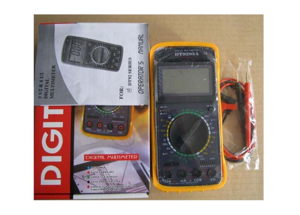 MULTIMETER DT9205A-2