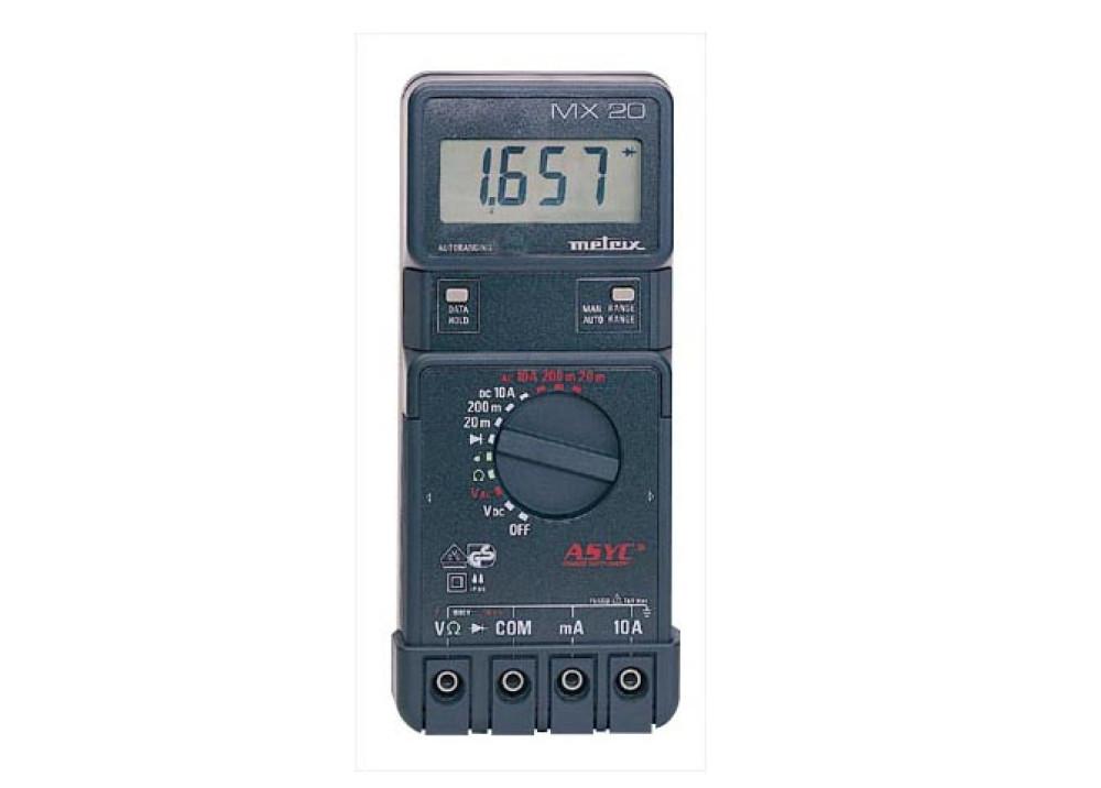 Digital Multimeter Metrix MX20