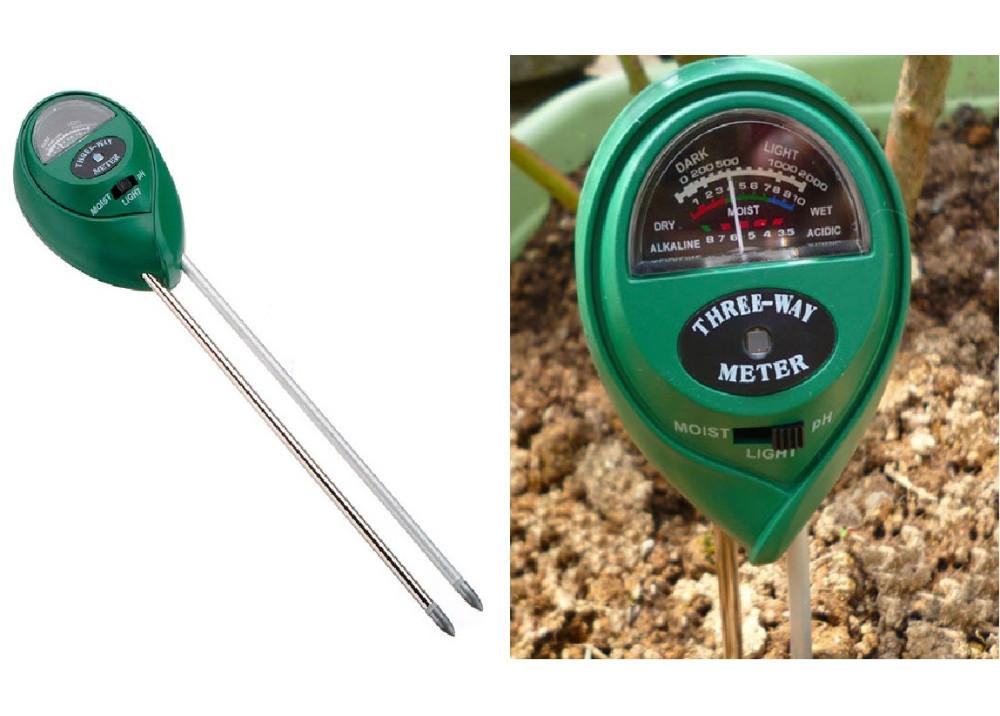 Plant Flowers Soil 3 in1  PH Tester Moisture Light Meter