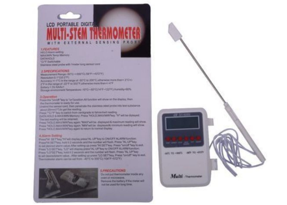 Digital  Thermometer  With Probe HT-9269